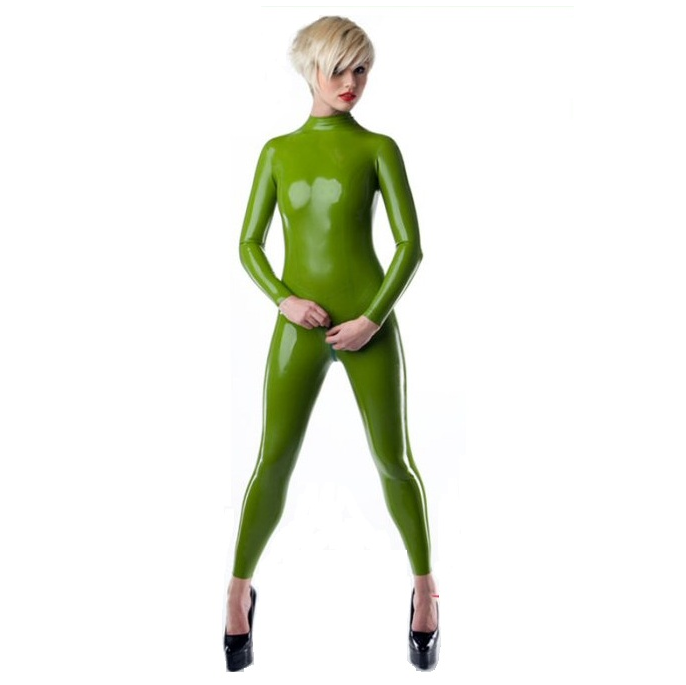 natural green latex sheet to make latex catsuit or dresses